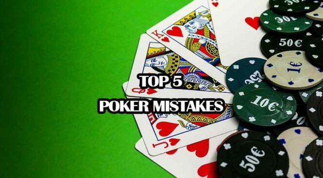 online poker mistakes